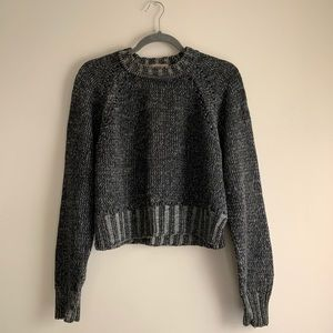 Best Authentic • Thick Knit Crop Sweater